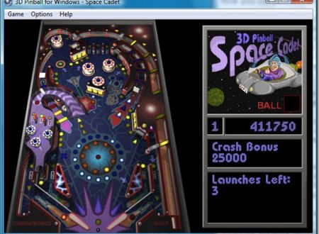 Pinball 3D: scarica l'intramontabile flipper di Windows XP!