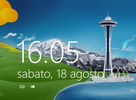 Rimuovere password all'accesso su Windows 8