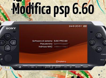 Modifica PSP – CFW 6.60 Pro-B10