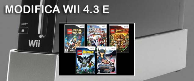 Modifica Nintendo Wii 4.3E