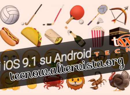 Emoji iOS 9.1: come averle su Android!