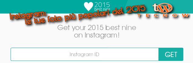 Instagram 2015bestnine