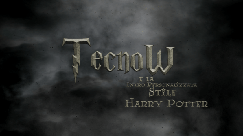 Harry Potter Intro - TecnoW