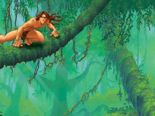Disney's Tarzan (PSX-PSP)