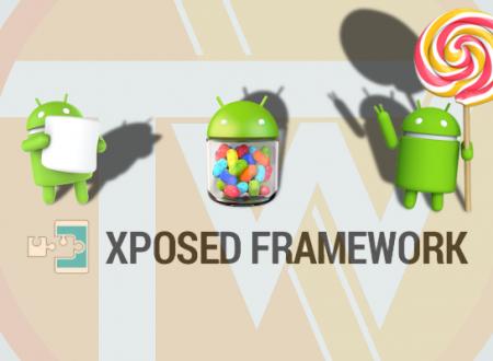 Xposed Framework – Installazione e utilizzo
