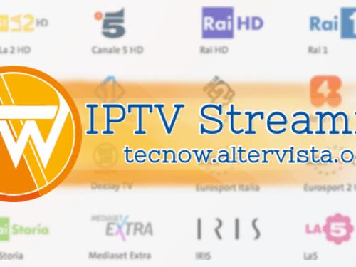 IPTV Streaming: informazioni e guida all'utilizzo con VLC