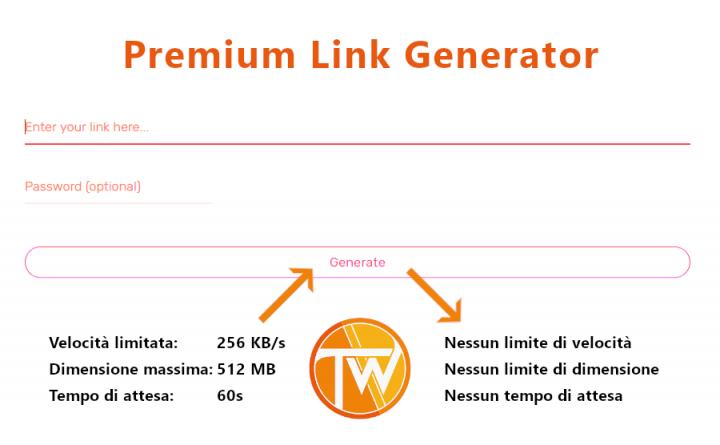 Premium Link Generator