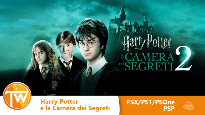 Harry Potter e la Camera dei Segreti - PSX PS1 PSP