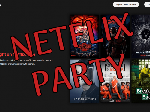 Netflix Party: film e serie TV insieme ai tuoi amici a distanza